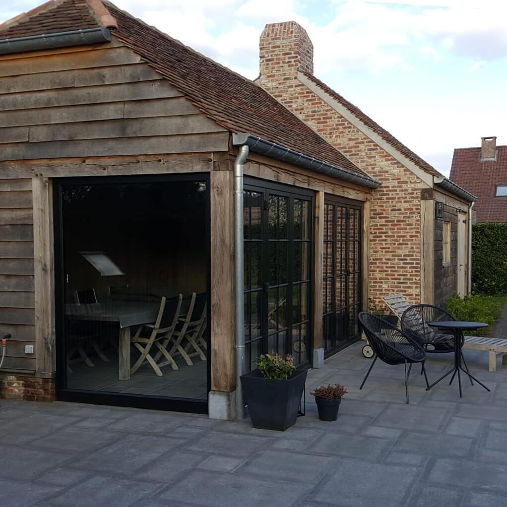 veranda hout